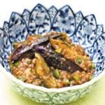 【レシピ】焼き茄子の利休和え&茄子と高きびの四川風