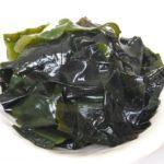 ワカメは若返り食で「若女」【海藻は海の青野菜】