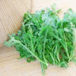 冬の青菜といえば文句なしに「春菊」その最大の理由は葉緑素を豊富に含んでいること
