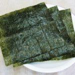 海苔は日本人の健康に欠かせない食物【腸機能を整え、スタミナを増強】