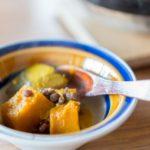 小豆とかぼちゃを煮合わせた「いとこ煮」は高血圧の予防食